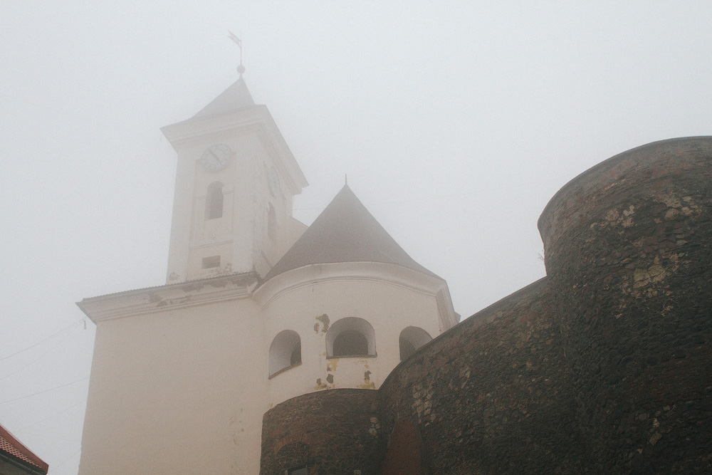 Мукачево: туманными тропами от современности в средневековье